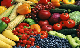 photo of fruits and vegetables
