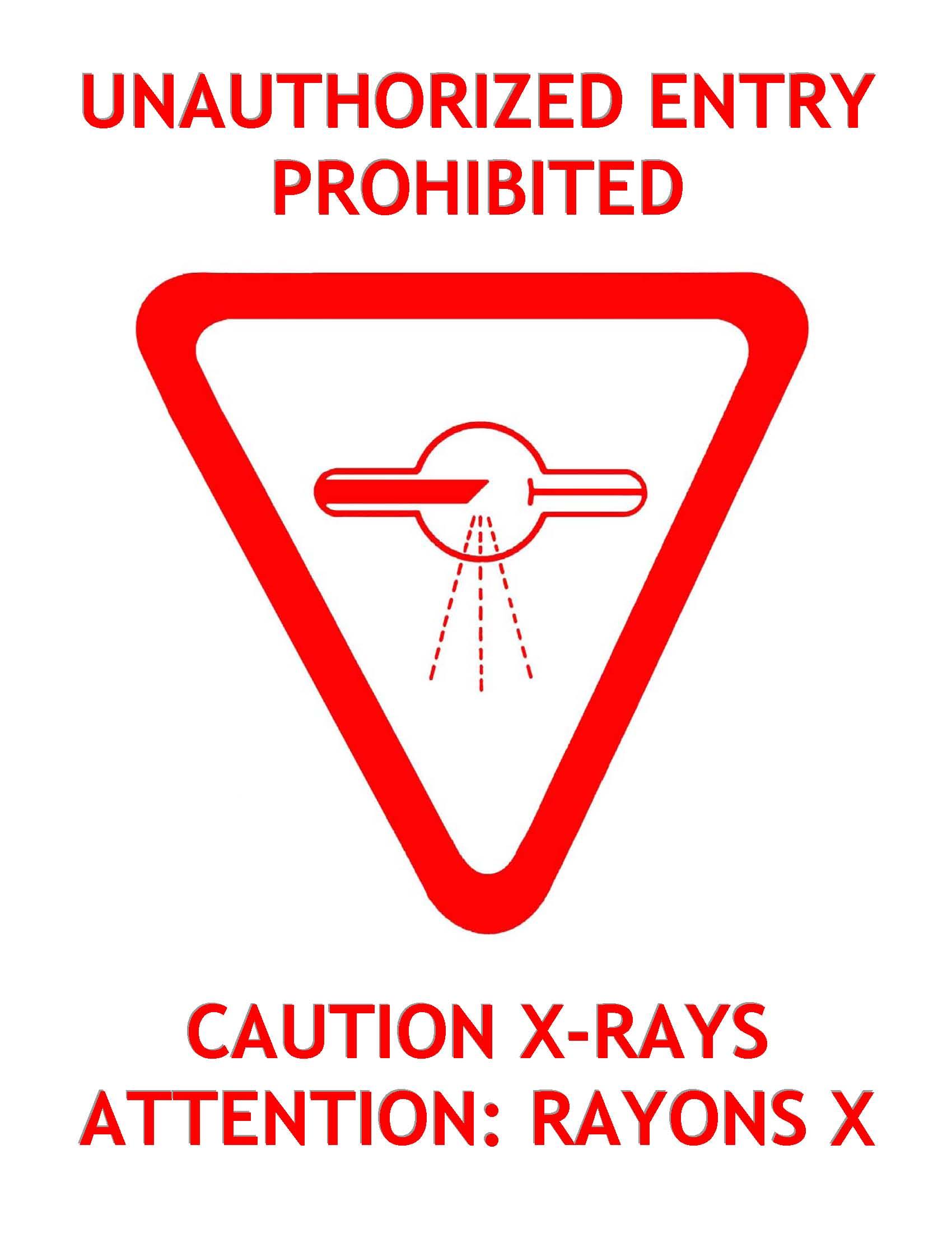 Diagnostic X Ray Facility Protection