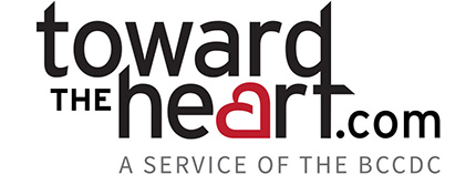 toward the heart website logo